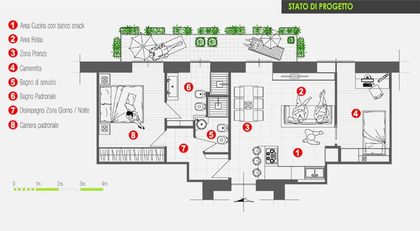 Creare piantina casa online for Creare planimetrie