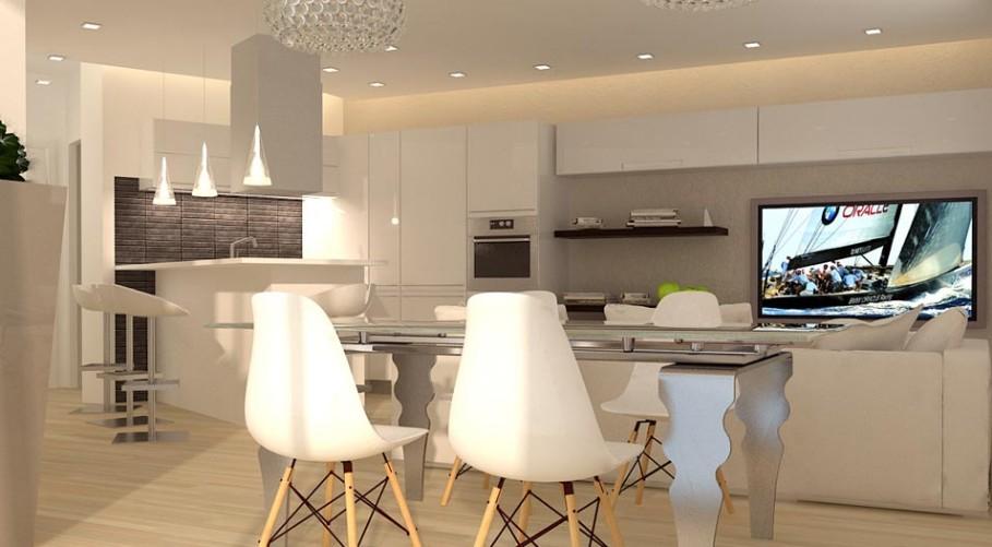 Un appartamento da 70 mq. riprogettato ed arredato ...