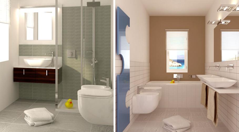 Foto di bagni arredati foto bagni moderni per xix a foto for Bagni arredati immagini