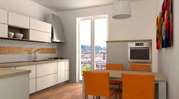 Internieprogetti architetto on line ristrutturare for Arredare la cucina piccola