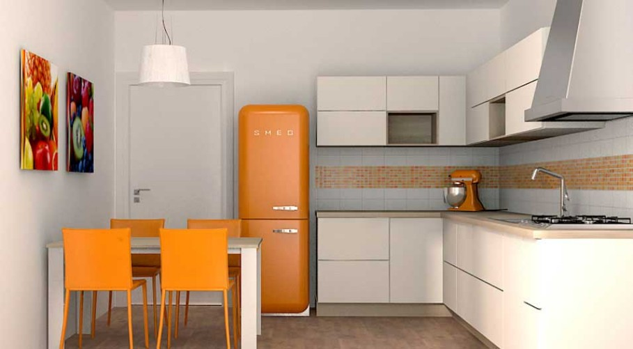 Arredamento cucina piccola awesome with arredamento cucina piccola fabulous due cuori e una - Come arredare una piccola cucina ...