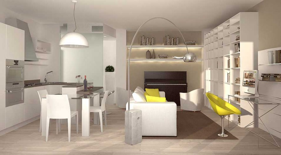 Arredare casa 60 mq my63 pineglen for Idee di casa