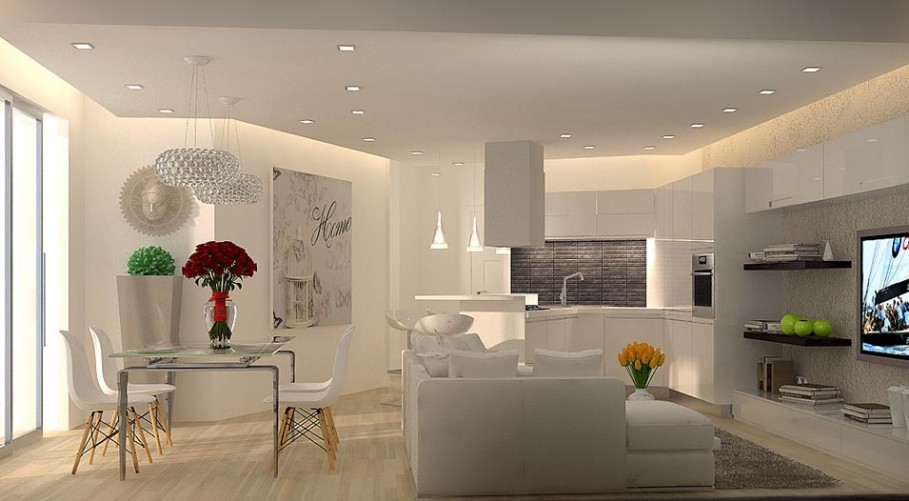 Top progetto immobile mq with case da architetti for Arredare casa moderna 80 mq
