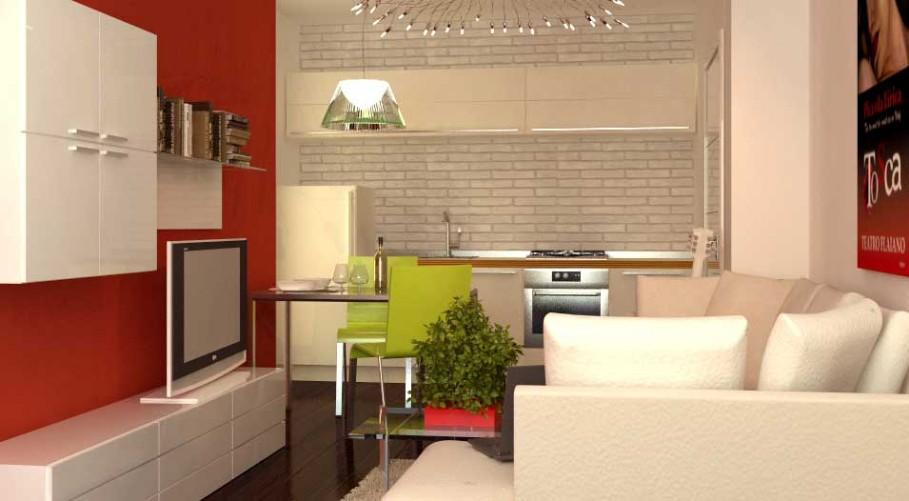 Un appartamento da 45 mq: ricavare una stanza in più ...