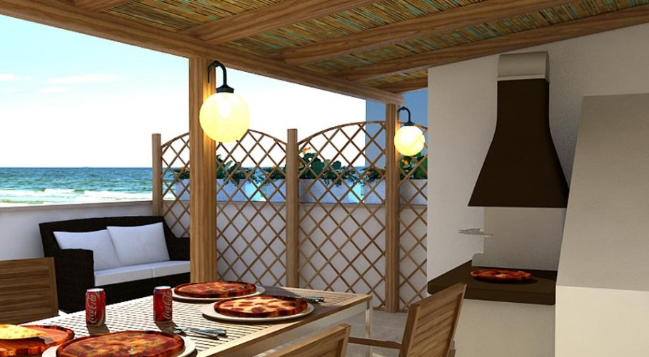Favoloso Il progetto di una terrazza vivibile - Architetto On line | Come  ET73