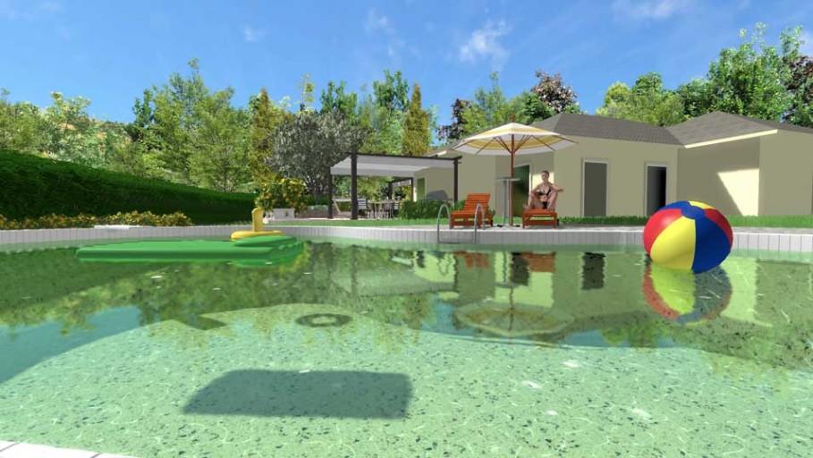 Progettare Il Giardino Di Casa : Il progetto di un giardino di dimensioni medie a bassa manutenzione
