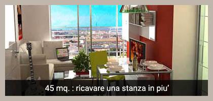 Progetto online casa cucina a vista sul living with for Come progettare un layout di una stanza online gratuitamente