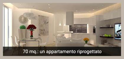 Internieprogetti architetto online arredare casa Esempi di ristrutturazione appartamento