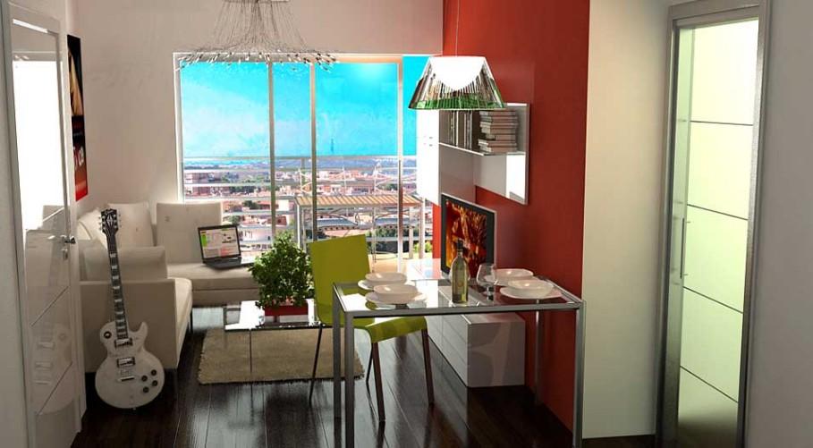 Camera Matrimoniale 14 Mq.Un Appartamento Da 45 Mq Ricavare Una Stanza In Piu Architetto