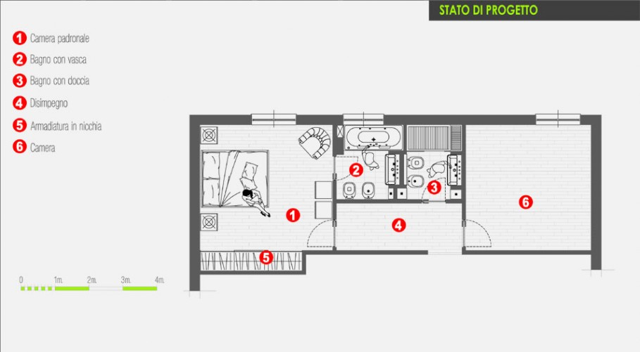 Come ricavare un secondo bagno - Architetto On line   Come Arredare ...